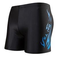 Wholesale sexy male swimming trunk for sale – plus size Professional Swimming Trunks Flat Angle Fashion Sexy Swim Trousers Set Swimwear Large Size Male Popular Fashion ds KK