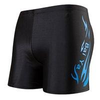 erkek çocuğu açısı toptan satış-Profesyonel Yüzme Sandıklar Düz Açı Moda Seksi Yüzmek Pantolon Set Mayo Büyük Boy Erkek Popüler Moda 7 2ds KK