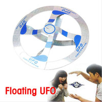 Mystery Mid Air OVNI Floating Fly Saucer Magic Toy Magician Trick Props Show Tool Magic Trick Toy For Kids