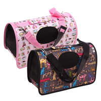 Compra Supporti Morbidi Per Cani Spalla-Portable Soft Dog cane da compagnia portatile Travel Comfort Gatto Tote Shoulder Bag Crata Gabbia Casa Kennel Gabbia Pet Bag