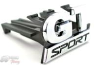 тюнинг кузовного автомобиля оптовых-Rhino Tuning GT SPORT Car Grill передняя эмблема значок авто корпус для гольфа MK5 Car Grille эмблема 615