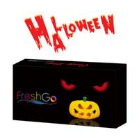 Wholesale Box Set Wholesale - Freshgo Halloween Contact Lens Package Box Crazy Lens Case