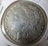 Wholesale Coin Inlay - US Coins 1894 Morgan Dollar copy Coins   Free Shipping Promotion Cheap Factory Price nice home Accessories Silver Coins High Quality