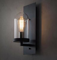 Wholesale Nice Deco - Hall Nice Industrial Wall Lamp Light Glass DIY Lighting Home Cafe Art indoor lighting wall lamps