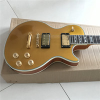 Wholesale beautiful hand guitar resale online - Chinese good guitar custom shop guitar custom Electric Guitars gold beautiful can be a of custom Like photos