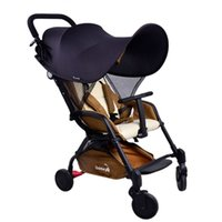 Wholesale Newest Baby Strollers - Wholesale- Newest 99% UV UVB Sun Rays Cover Sunshade Maker for Kid Baby Strollers Pram By Pushchair and Car Seats