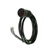 deutsch connector wholesale Canada - OBD2tool AQkey SAE J1939 for Deutsch connector, open end Deutsch connector cable, SAE J1708 for Deutsch 9P to open line