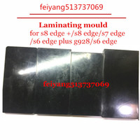 Wholesale Sublimation Mold - For Samsung Galaxy S6 S6 edge plus S7 S8 S8 Edge Case Cover Metal 3D Sublimation mold Printed Mould tool heat press Repairing Tools