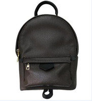 Wholesale Pvc Barrels - MEM Rivet 13 Style Backpack Designer Backpack for Men Women PVC Leather Boy Girls Satchel Fashion Rucksack PU lEATHER Size Medium