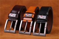 Wholesale Fancy Belts For Men - 2017 New model fashion luxury belts faux leather belts for men brand Strap male pin buckle fancy vintage jeans cintos free shipping