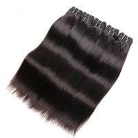 Wholesale Human Hair Extensions Brand - wholesale 6a brazilian straight virgin hair 1kg 20bundles lot 100% natural human hair extensions weaves color 1b beautysister brand