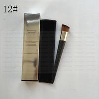 Wholesale Finish Hair - Free shipping epacket ! makeup brushes backstage Finish FLUID FOUNDATION BRUSH contour concealer kabuki kit pinceis maquiagem.HZS009-0