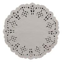 "Wholesale Lace Paper Doilies Vintage - Wholesale- 50Pcs 5.5""=140mm White Round Lace Paper Doilies   Doyleys,Vintage Coasters   Placemat Craft Wedding Christmas Table Decoration"