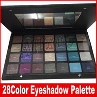 Wholesale Green Eyeshadow Palette - Eyeshadow Palette 28 COLORS Makeup Cosmestics PURPLE-BLUE GREEN-BROWN Waterproof Matte Eyeshadow Eye Shadow Palette maquillaje DHL