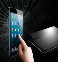Wholesale screen protector ipad 7 online – For Ipad Mini Ipad MM H Tempered Glass Screen Protector For Tab4 T330 T530 iPAD Air Protector Film Treated Glass
