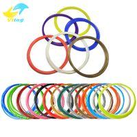 Wholesale Pla Plastic 3d Printer - 20 Colors 3D Filament ABS  PLA 1.75mm Printer Filament Materials (10M color ,total 200M) For 3D Printing Pen 3D Printer