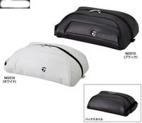 Wholesale Football Equipment Bags - 2017 fashion customized logo men women brand golf shoes bag pu leather football spots shoes bag black and white golf club equipment