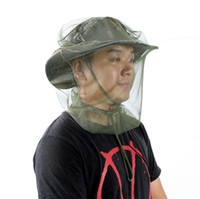 Mask Cap Sleeve Anti Mosquito Bee Insect Hat Bug Mesh Head Net Face Protector Travel Camping Outdoor Gear