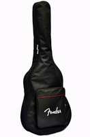 Wholesale Acoustic Guitar Bags - Guitar Bag Guitar Electric Waterproof Gig Bag Carry Case Strap For Electric Acoustic Guitar Fashion Classic and Elegant Soft