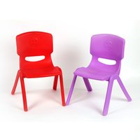 15 special chairs - Kindergarten Plastic Little Bench Matte Surface Backrest Chair Baby Four legs Stable Special Chair Safe Small Chair