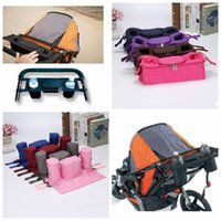 Wholesale Baby Pram Bags - Baby Stroller Hanging Bag Safe Console Tray Pram Bottle Cup Holder Bag By Cart Bottle Bags LJJO2846