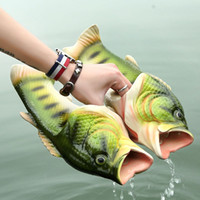 Wholesale Indoor Slippers For Kids - Emulational Fish Style Soft Sandals Beach Slippers Casual Shoes for Women Men Family Slippers Creative Type Handmade Personality Fish Kids