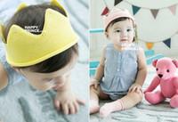 bebek örme taç toptan satış-2017 Yeni Bebek Örgü Taç Tiara Çocuk Bebek Tığ Bandı şapka doğum günü partisi Fotoğrafçılık sahne Beanie Bonnet