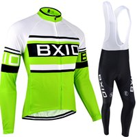 Wholesale warm long sleeve cycling jersey resale online - BXIO Winter Thermal Fleece Cycling Jerseys Mountain Cycling Clothes Keep Warm Long Sleeves Sets And Autumn Comfort Cycling Clothing BX