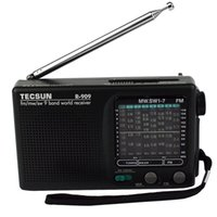 Commercio all'ingrosso 2 pc Tecsun R-909 Radio FM / AM / SW Receiver fascia del mondo Radio portatile DX / LOCAL Sensibilità FM Radio Y4140A