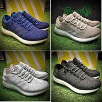 Wholesale Pure Leather Shoes For Men - Pure BOOST LTD 2017 Men's Running Shoes PureBOOST Size 40-45 Men Nmd R1 Running Shoes For Men Top Boots Ultra Boost Shoes Sneakers