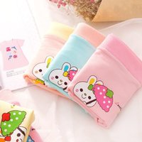 Wholesale Girl Boxers - 2016 new cotton cartoon fast delivery printing children's underwear girls boxer underwear antibacterial breathable warmth