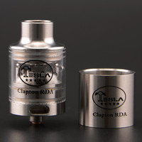 Cheap Replaceable Clapton RDA Best 3.5ml Metal Tesla Clapton RDA