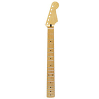 Wholesale Guitar Neck Style - High Quality 21 Frets Maple Guitar Neck Canadian Maple Gloss Satin For FD ST Strat Style Guitar Parts Replacement