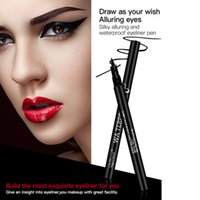 Wholesale New Brand Women Fashion Dynamic Black Liquid Eyebrow Pen Easy To Wear Long lasting Waterproof Eye Liner Pencil Cosmetic Tool