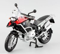 Wholesale Miniature Motorcycle Toys - 1:12 Children's R1200GS metal diecast mini moto race cars collectible miniature boys kids toys models of motorcycles