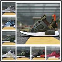 Wholesale Grey Wool Socks - NMD XR1 Runner Duck Camo X City Sock Green White Mastermind Japan Skull Pk Wool Boost Top quality Fashion Athletic Running Shoes