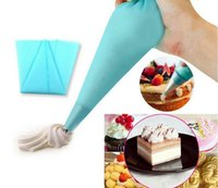 Wholesale Set Silicone Ice - Silicone Kitchen Accessories Icing Piping Cream Pastry Bag DIY Cake Decorating Tool Cream Squeeze Tips Set