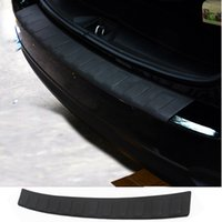 Wholesale Car Rear Bumper Protectors - Wholesale- Car Auto Accessory Rear Bumper Protector Tail Door Sill Plate For Subaru Forester 2013 2014 2015 Pu 1Pc