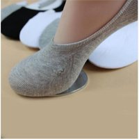 Wholesale Loafers - Wholesale-Hot Selling Fashion 5 Pairs Soft Low Cut Cotton Loafer Boat Non-Slip Invisible No Show Socks