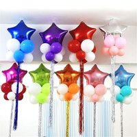 Wholesale Cheap Decorations For Weddings - Party Decoration Stars Balloon Cheap Sweet Party Balloons for Christmas Party Supplies For Wedding Event Decorations