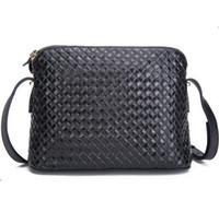 Wholesale Shoulder Bag Knitting Pattern - Wholesale- 100% real leather shoulder messenger bag knitting pattern bags for ladies 2015 brand handbag fashion genuine leather women bags
