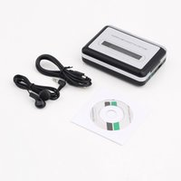Wholesale Tape Cassette Dvd Converter - 2016 Hot Tape to PC USB Cassette & MP3 CD Converter Capture Digital Audio Music Player Promotion!