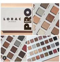 Wholesale Mega Size - Lorac Mega Pro 3 32colors eyeshadow Palette Limited Edition Shimmer Matte Eye Shadow Palette DHL shipping