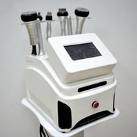 Wholesale Portable Liposuction Cavitation Slimming Machine - Portable Ultrasonic Cavitation Liposuction Slimming Machine Multipolar Radio Frequency RF Vacuum Cavitation RF Machine For Weight Loss