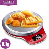 Wholesale Mini Balance 1g - Gason C4 Lcd Kitchen Scales Digital Gram Metal Electronic Accurate Balance Mini Cooking Food Measure Tools Pallet Food 3kgx0 .1g