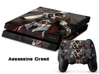 Wholesale Playstation Controller For Pc - Assassin Creed Skin Sticker Vinyl Decals For PS4 Console + 2 PCS Controller Cover Decal Skins for Playstation 4