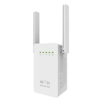 Nuevos 300Mbps WIFI Extender Routers 300M Dual Antenas Wireless-N wi-fi Repetidor 802.11N / B / G Red Roteador UE Reino Unido EE.UU. LV-WR02E