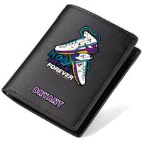 Wholesale Korean Style Sport Shoes - Sport shoe wallet Kobe Bryant purse Basketball star short long cash note case Money notecase Leather burse bag Card holders