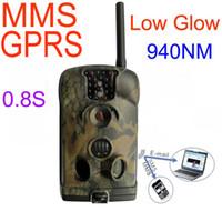 caza cámara de vídeo hd al por mayor-Ltl Acorn 6210MM Ltl-6210MM 6210MG MMS GPRS GSM HD Video 940nm 1080P 12MP cámara de caza Scouting Trail Camera