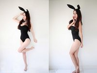 Wholesale Bunny Girl - girl cosplay Hot Sexy 3PCS Set Catwoman Uniforms Temptation Suit Sexy Lingerie Costumes Sex Toy Underwear COSPLAY Bunny Girl 28